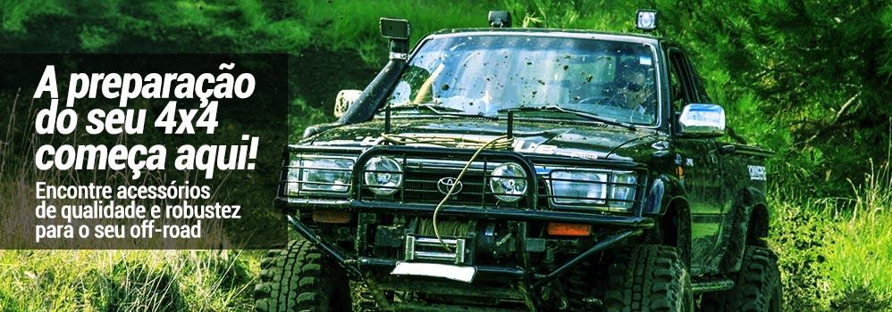 Acessórios para veículos off-road 4×4
